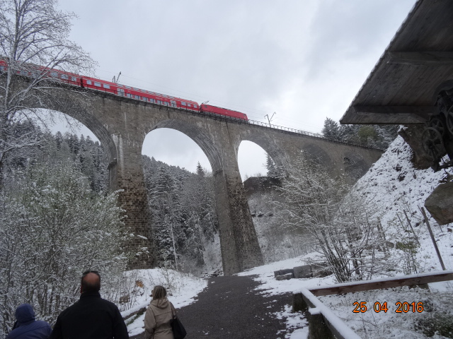 A viaduct in the Black Forest - taken on 25 April 2016.