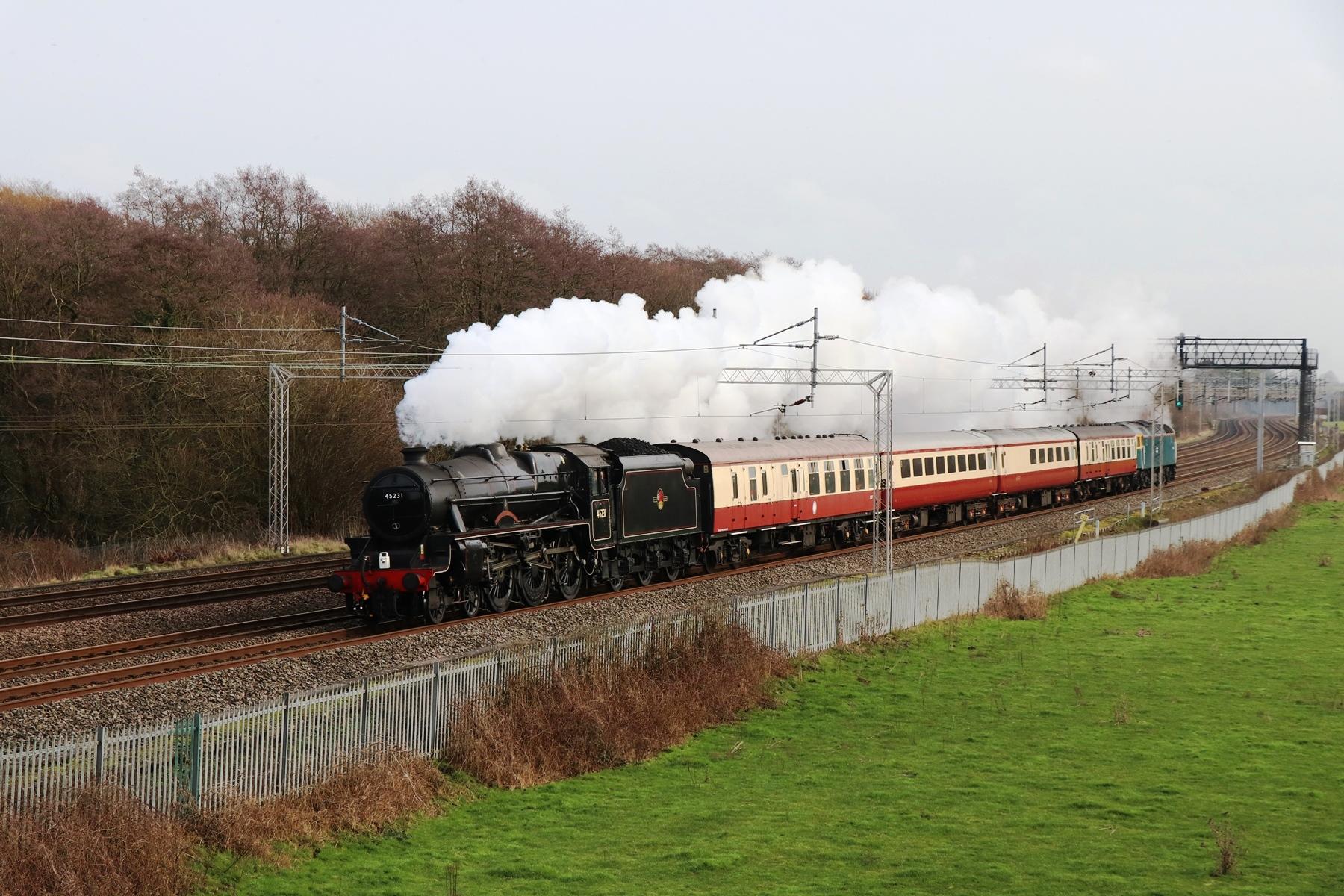 Steam around Stafford and Crewe | | Stafford Railway Circle